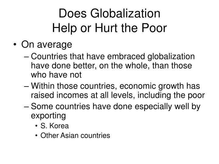 Does Globalization
