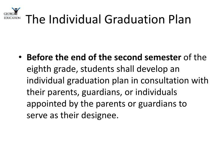 The Individual Graduation Plan