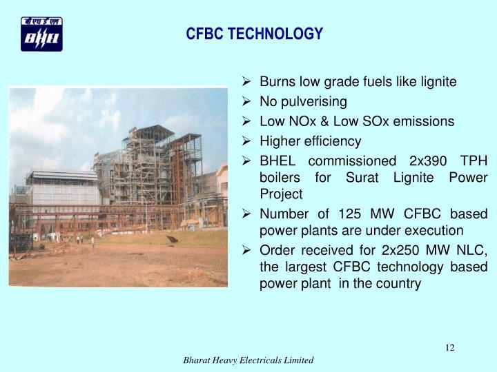 CFBC TECHNOLOGY