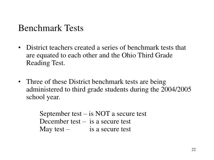 Benchmark Tests