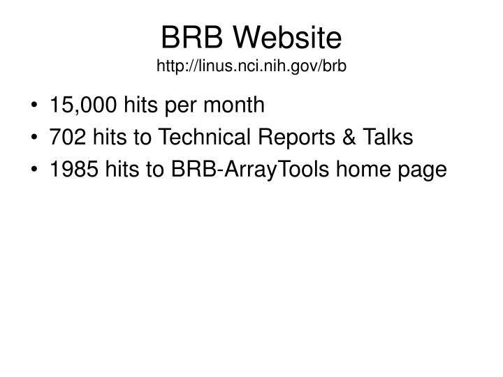 BRB Website