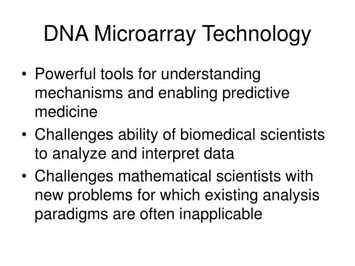 DNA Microarray Technology