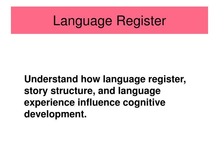 Language Register
