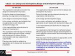 clause 7 3 1 design and development design and development planning