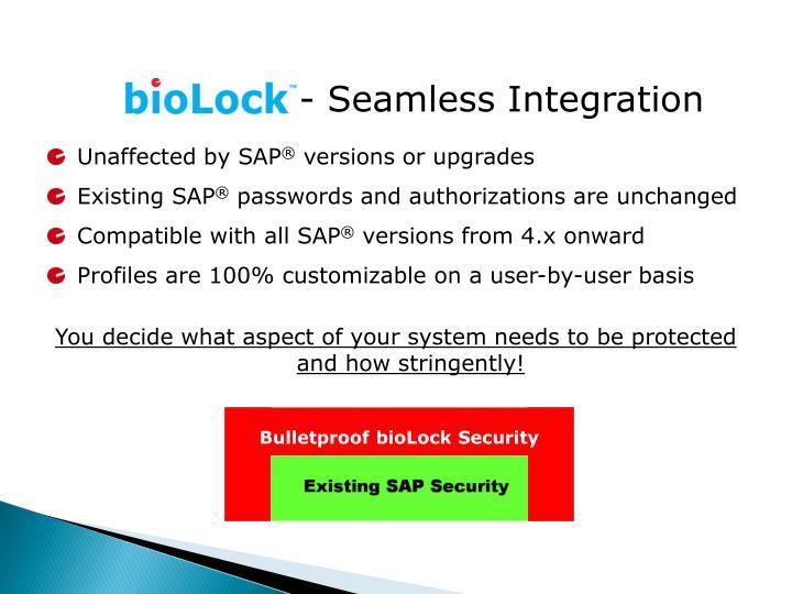 Bulletproof bioLock Security