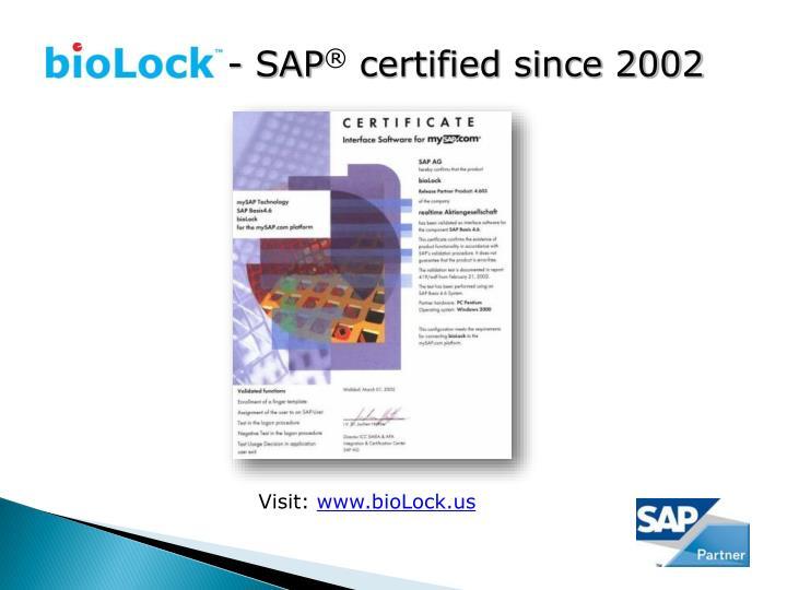 - SAP