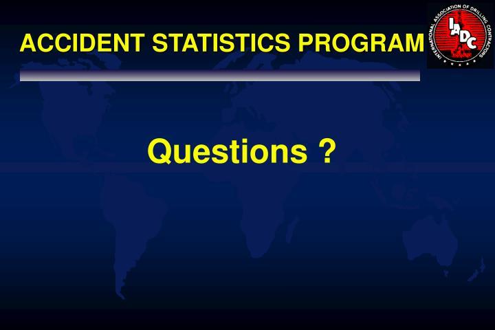 ACCIDENT STATISTICS PROGRAM