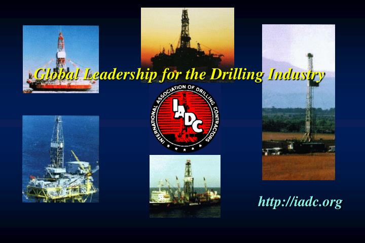 Global Leadership for the Drilling Industry