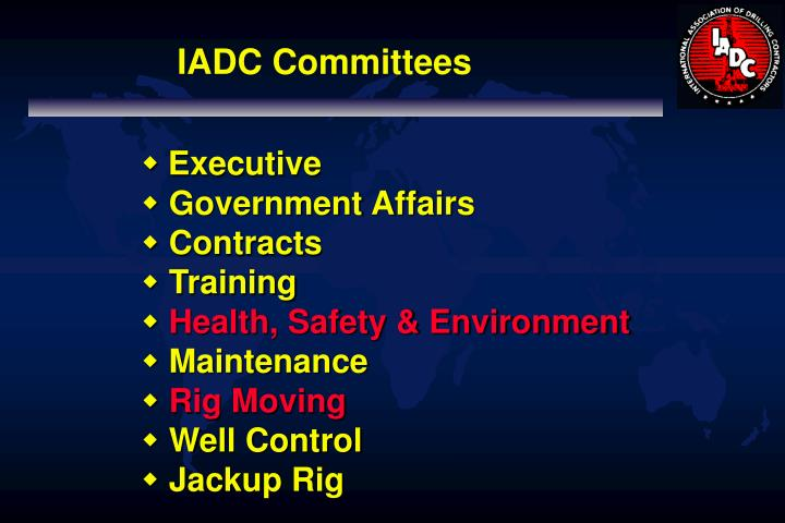 IADC Committees