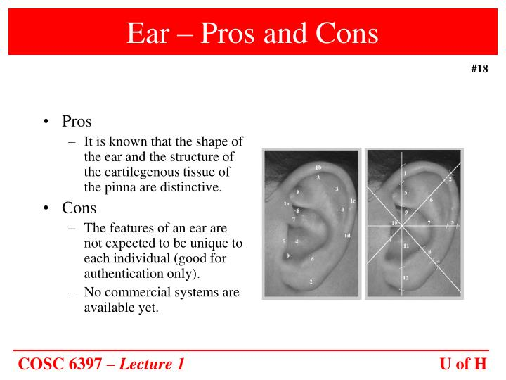 Ear – Pros and Cons