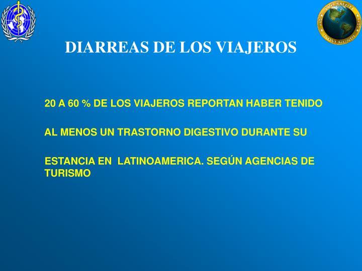 DIARREAS DE LOS VIAJEROS