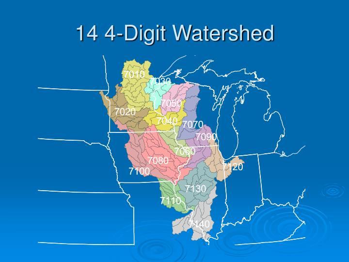 14 4-Digit Watershed