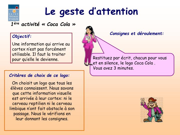 Le geste d attention1
