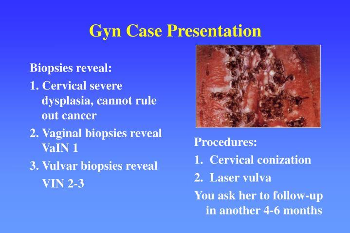 Biopsies reveal: