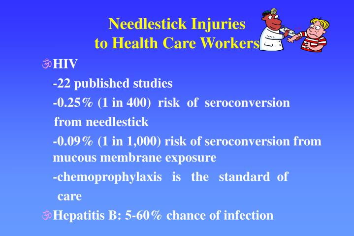Needlestick Injuries