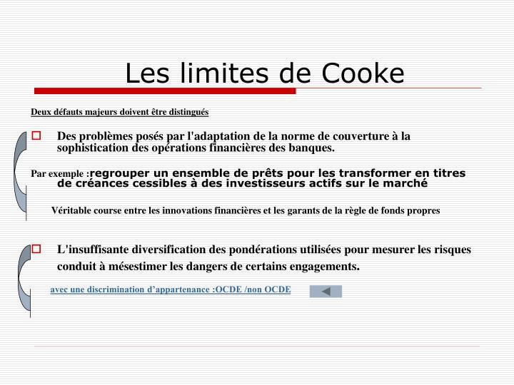 Les limites de Cooke