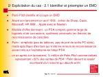 2 explicitation du cas 2 1 identifier et pr empter un emd