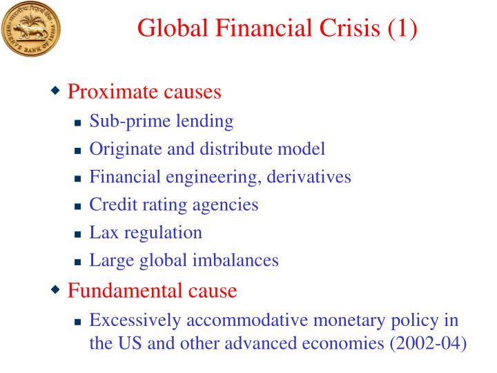 Global Financial Crisis (1)