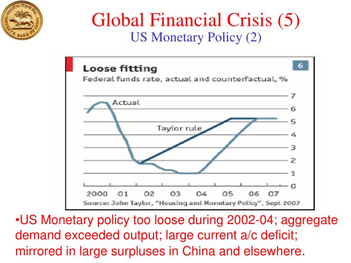 Global Financial Crisis (5)