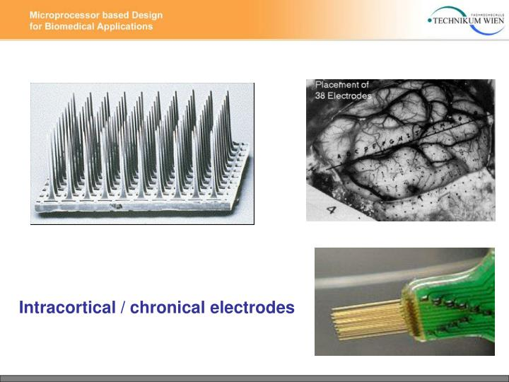 Intracortical / chronical electrodes