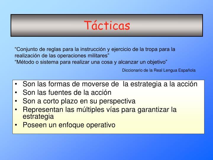 Tácticas