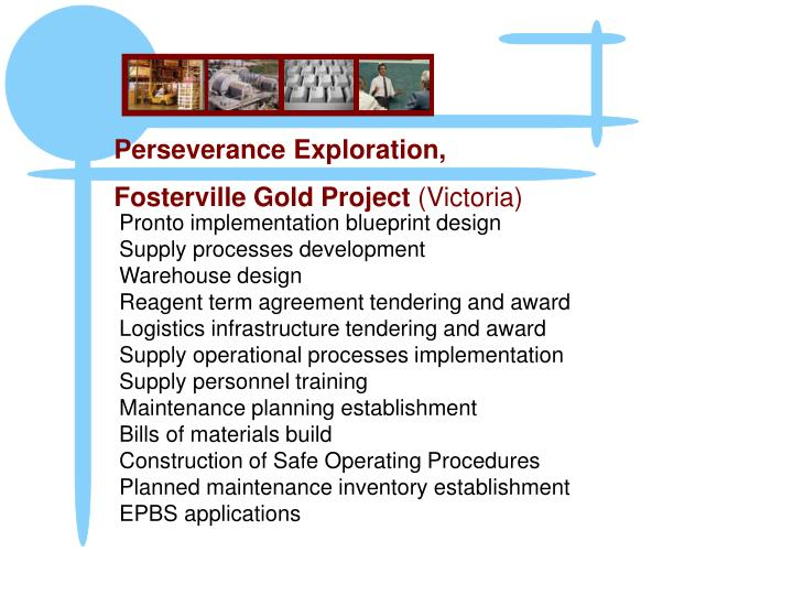 Pronto implementation blueprint design