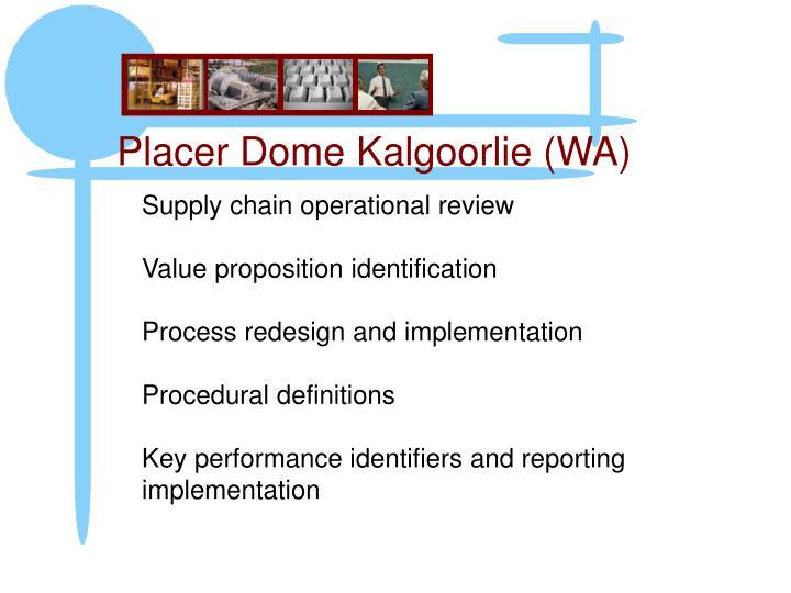Placer Dome Kalgoorlie (WA)