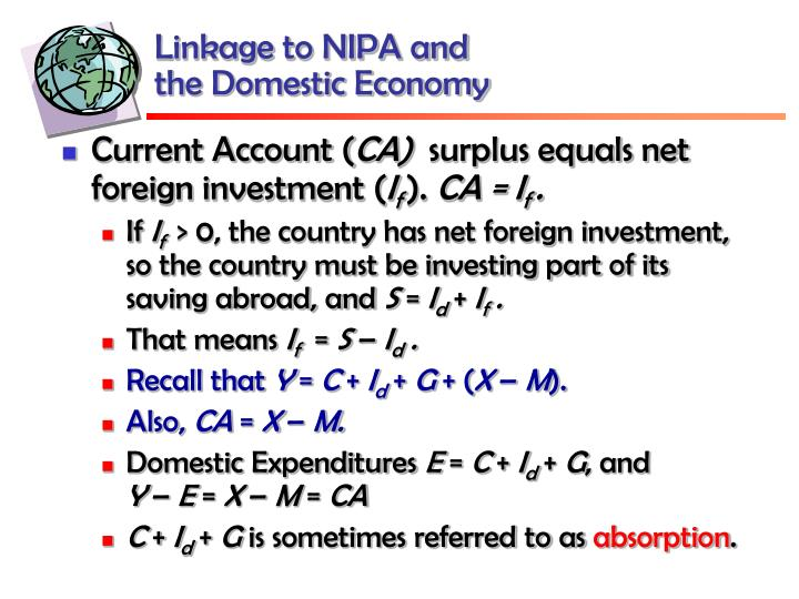 Linkage to NIPA and