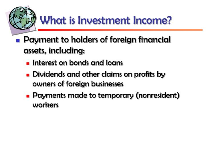 What is Investment Income?
