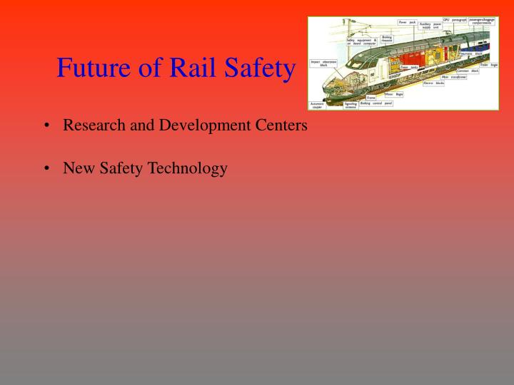 Future of Rail Safety