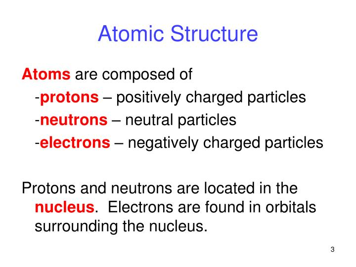 Atomic structure1