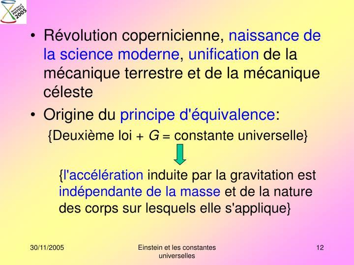 Révolution copernicienne,