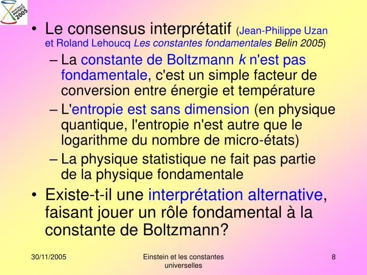 Le consensus interprétatif
