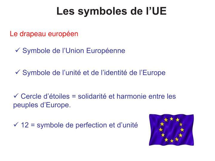 Les symboles de l'UE