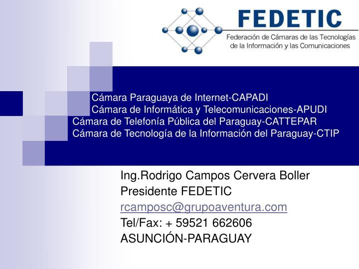 Cámara Paraguaya de Internet-CAPADI