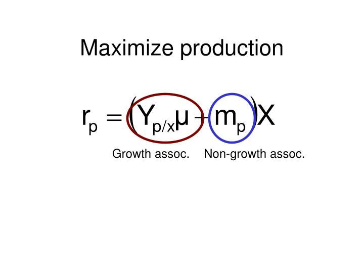 Growth assoc.