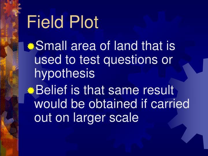 Field Plot