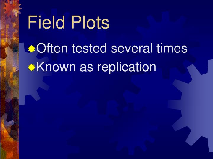 Field Plots