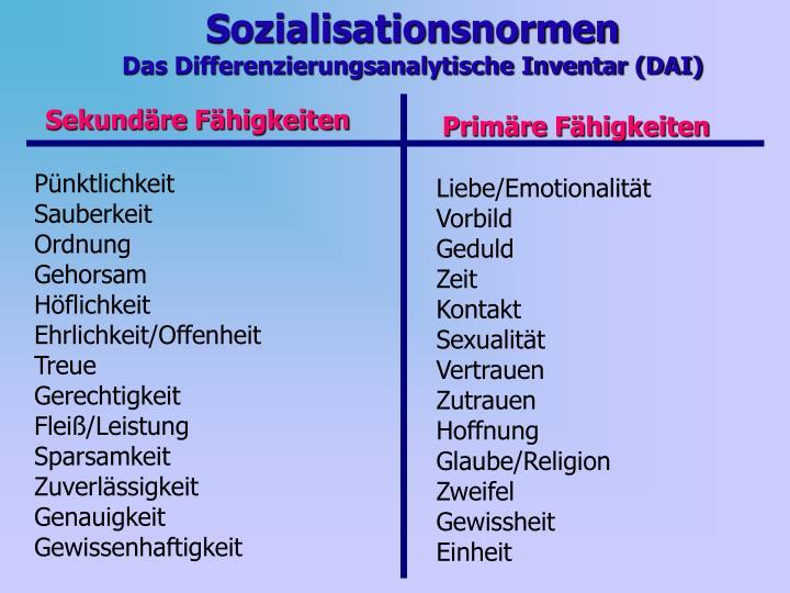 Sozialisationsnormen