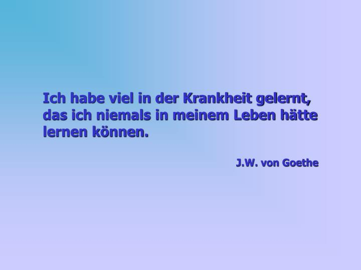 Goethe Spruch