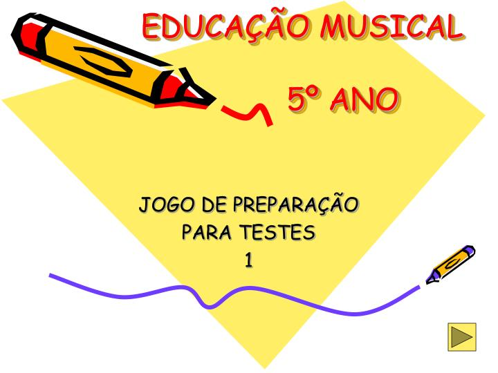 educa o musical 5 ano