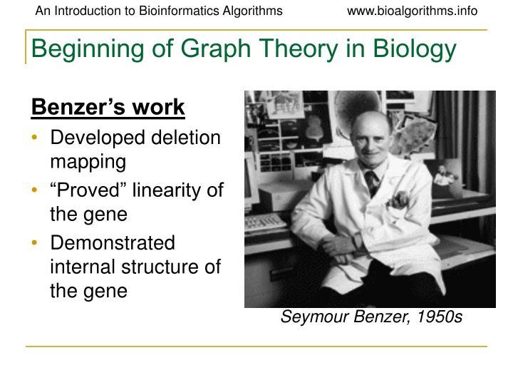 Seymour Benzer, 1950s