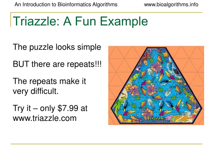 Triazzle: A Fun Example