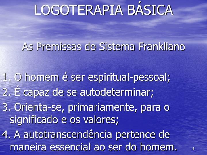 LOGOTERAPIA BÁSICA