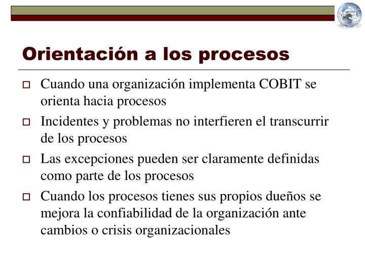 Orientación a los procesos