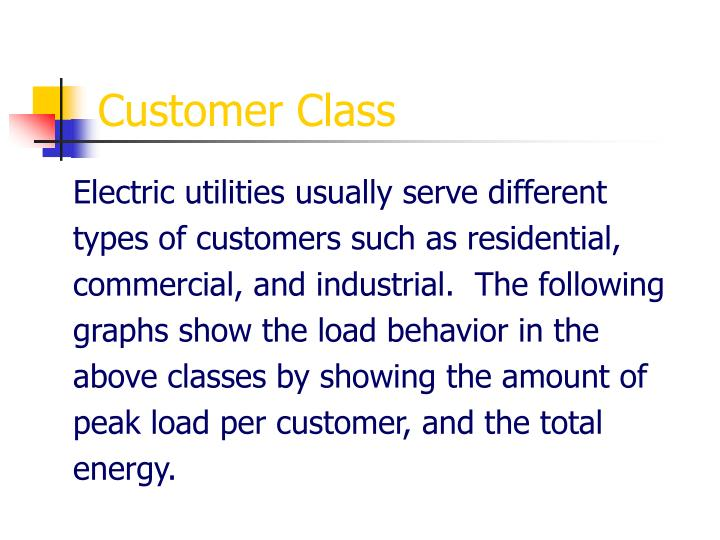 Customer Class