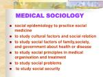 medical sociology1