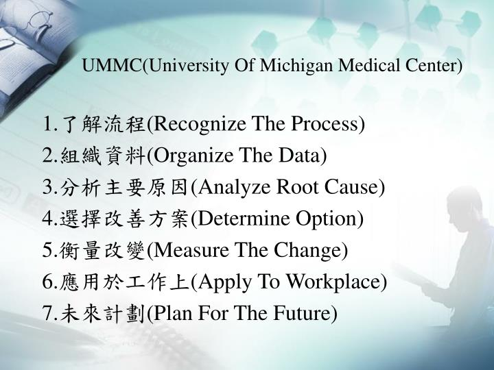 UMMC(University Of Michigan Medical Center)