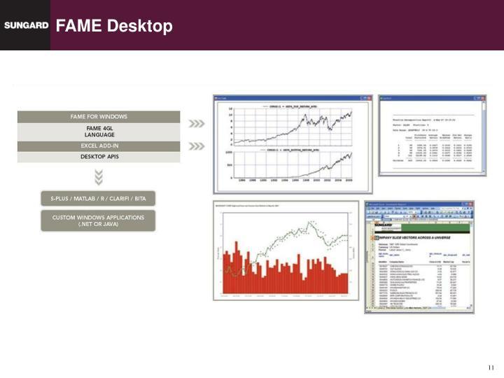 FAME Desktop