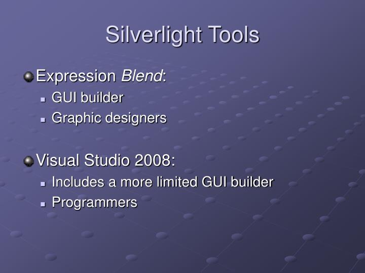 Silverlight Tools
